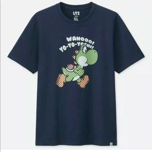 Wahoo Yo Yo YOSHI Mario Bro Graphic Tee UT Uiniqlo